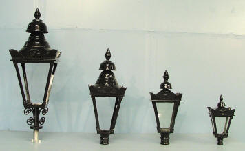 Cast Iron Lighting Outdoor Street Furniture